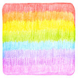 El lápiz abstracto del color garabatea el fondo Imagenes de archivo