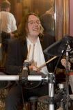 El líder del cóctel del grupo, del cantante y del músico Konstantin Kuveyzev Imágenes de archivo libres de regalías