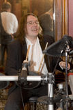 El líder del cóctel del grupo, del cantante y del músico Konstantin Kuveyzev Fotos de archivo