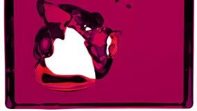 El líquido púrpura llena la pantalla, del canal alfa HD LLENO libre illustration