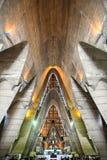 El la Altagracia Interior de BasÃlica Catedral Nuestra Señora de, hace Fotografía de archivo libre de regalías