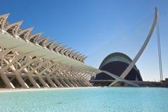 El la ciudad de artes, oceanográfico y de ciencias, Valencia Fotografía de archivo libre de regalías