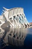 El la ciudad de artes, oceanográfico y de ciencias, Valencia Imagen de archivo