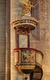El la de los dans del Saint Nazaire de Basilique del La cita de Carcasona - Aude y x28; France& x29; fotos de archivo libres de regalías