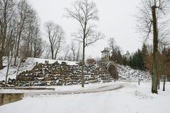 El laberinto de piedra Imagenes de archivo