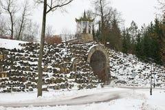 El laberinto de piedra Imagen de archivo
