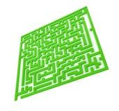 El laberinto verde Imagenes de archivo