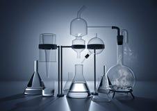 El laboratorio de química Imagen de archivo libre de regalías