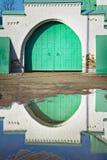 El labrado-hierro verde bloquea el vintage Foto de archivo