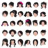 El labrar del pelo Imagen de archivo libre de regalías