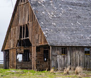 El lado de sotavento del granero Fotos de archivo