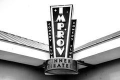El lado del entretenimiento de la comedia imágenes de archivo libres de regalías