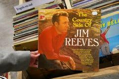 El lado del país de Jim Reeves foto de archivo libre de regalías