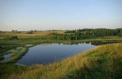El lago Foto de archivo