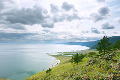 El lago Baikal Imagenes de archivo