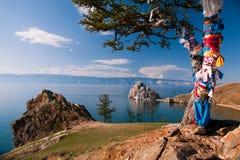 El lago Baikal Fotografía de archivo