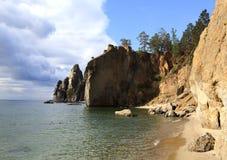 El lago Baikal. Día de verano Fotografía de archivo libre de regalías