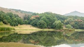 El lago Biwa Fotos de archivo libres de regalías