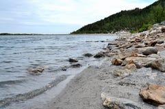 El lago Chebache grande, indica el parque natural nacional Imágenes de archivo libres de regalías