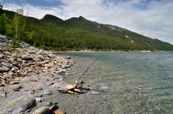 El lago Chebache grande, indica el parque natural nacional Imagenes de archivo
