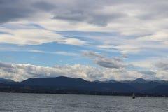 El lago de Garda Foto de archivo libre de regalías