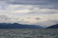 El lago de Garda Fotografía de archivo
