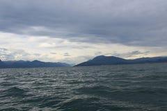 El lago de Garda Imágenes de archivo libres de regalías
