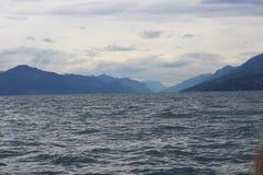 El lago de Garda Fotografía de archivo libre de regalías