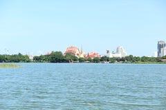El lago de Khon Kaen, Tailandia fotografía de archivo libre de regalías