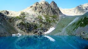 El lago de la montaña de Sofía Foto de archivo