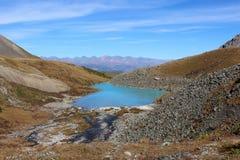 El lago de las montañas Fotografía de archivo libre de regalías