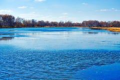 El lago del sol Fotos de archivo libres de regalías