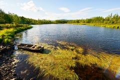 El lago del verano Imagen de archivo libre de regalías