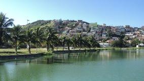 El lago en Arraial hace Cabo imagenes de archivo