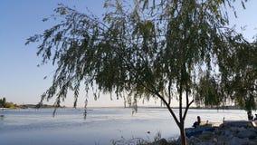 El lago en Gölbaşı en un día soleado Fotos de archivo