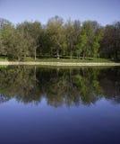 El lago en parque Imagen de archivo libre de regalías