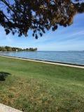 El lago Erie Imagen de archivo