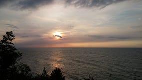 El lago Erie imagenes de archivo