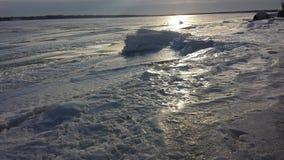 El lago Erie Foto de archivo libre de regalías