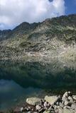 El lago glacial en el Rila Foto de archivo libre de regalías