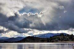 El lago heaven's imagenes de archivo