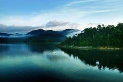 El lago hermoso Fotografía de archivo