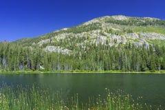 El lago hermoso Sotcher Fotos de archivo libres de regalías