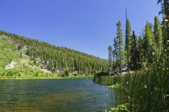 El lago hermoso Sotcher Imagen de archivo