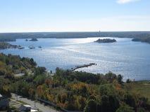 El lago Hurón 1 Foto de archivo