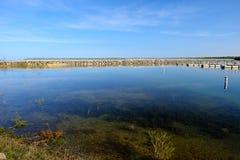 El lago Hurón, isla de Presque imagen de archivo