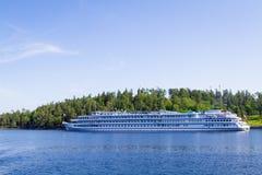 El lago Ladoga, Valaam Imagen de archivo libre de regalías