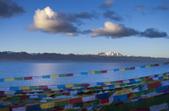 El lago más grande de Tíbet Fotos de archivo