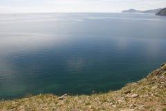 El lago más profundo del mundo Baikal Imagen de archivo