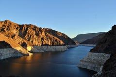 El lago Mead Foto de archivo